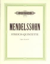 Mendelssohn Felix - String Quintets In A Op.18; B Flat Op.87 - String Quintets