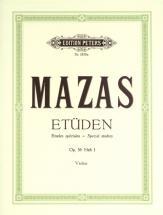 Mazas Jacques-féréol - Studies Op.36 Vol.1: