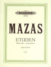 Mazas Jacques-féréol - Studies Op.36 Vol.2: