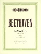 Beethoven Ludwig Van - Concerto In D Op.61 - Violin And Piano