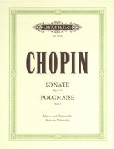 Chopin Frédéric - Sonata In G Minor Op.65; Polonaise In C Op.3 - Cello And Piano