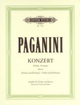 Paganini Nicolo - Concerto No.1 In D Op.6 - Violin And Piano