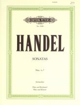 Handel George Friederich - Flute Sonatas, Vol.ii - Flute And Piano