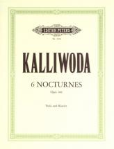 Kalliwoda Johann Wenzel - 6 Nocturnes Op.186 - Viola And Piano