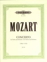 Mozart Wolfgang Amadeus - Concerto No.5 In A K219 - Violin And Piano