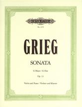 Grieg Edvard - Violin Sonata In G Op.13 - Violin And Piano