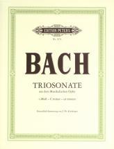 Bach Johann Sebastian - Trio Sonata C Min From Musical Offering - Flute Violin And Keyboard