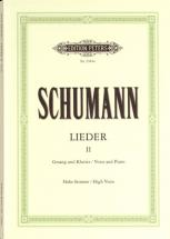 Schumann Robert - Complete Songs Vol.2: 87 Songs - Voice And Piano (par 10 Minimum)