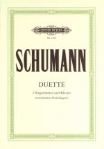 Schumann Robert - 34 Vocal Duets - Vocal Duets/trios (par 10 Minimum)