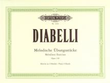 Diabelli Anton - Melodic Exercises Op.149 - Piano 4 Hands