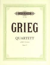 Grieg Edvard - String Quartet In G Minor Op.27 - String Quartets