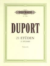 Duport - 21 Studies - Cello