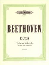 Beethoven Ludwig Van - 3 Duets - String Duets