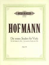 Hofmann Richard - First Studies Op.86 - Viola