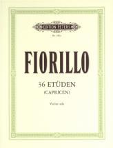 Fiorillo Federigo - 36 Studies (caprices) - Violin
