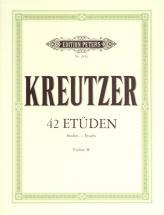 Kreutzer Rudolphe - 42 Studies Or Caprices - Violin
