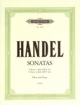 Handel George Friederich - 2 Oboe Sonatas - Oboe And Piano