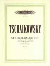 Tchaikovsky Pyotr Ilyich - String Quartet No.1 In D Op.11 - String Quartets