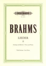 Brahms Johannes - Complete Songs Vol.2: 33 Songs - Voice And Piano (par 10 Minimum)