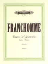 Franchomme Auguste Joseph - 12 Studies Op.35 - Cello