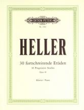 Heller Stephen - 30 Progressive Studies Op.46 - Piano