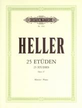 Heller Stephen - 25 Studies For Rhythm & Expression Op.47 - Piano