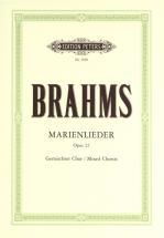 Brahms Johannes - Marienlieder Op.22 - Mixed Choir (par 10 Minimum)