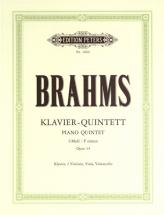 Brahms Johannes - Piano Quintet In F Minor Op.34 - Piano Quintets