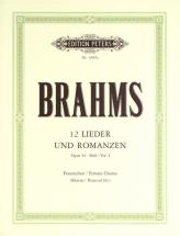 Brahms Johannes - Lieder Und Romanzen Op.44 Vol.1 - Mixed Choir (par 10 Minimum)