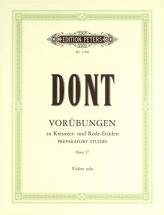 Dont Jacob - 24 Preparatory Exercises Op.37 - Violin