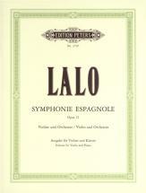 Lalo Edouard - Symphonie Espagnole Op.21 - Violin And Piano