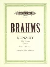 Brahms Johannes - Concerto In D Op.77 - Violin And Piano