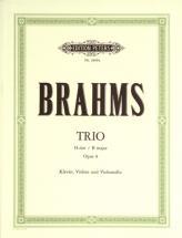 Brahms Johannes - Trio No.1 In B Op.8 - Piano Trios