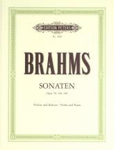 Brahms Johannes - Sonatas, Complete - Violin And Piano
