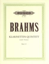 Brahms Johannes - Quintet In B Minor Op.115 - Clarinet(s) And Other Instruments