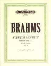 Brahms Johannes - String Sextet In G Op.36 - String Sextets