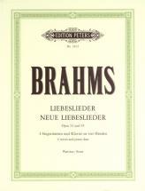 Brahms Johannes - Liebeslieder And New Liebeslieder Waltzes Quartets, In 3 Volumes, Vol.2 - Mixed Ch