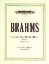 Brahms Johannes - Zigeunerlieder Op.103/112 - Vocal Score (par 10 Minimum)