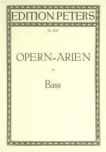 Opera Arias For Bass - Voice And Piano (par 10 Minimum)