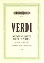 Verdi Giuseppe - Bass Arias - Low Voice And Piano (par 10 Minimum)