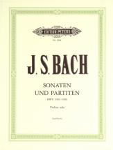 Bach Johann Sebastian - The 6 Solo Sonatas And Partitas Bwv 1001-1006 - Violin
