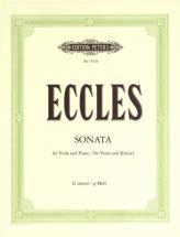 Eccles Henry - Sonata In G Minor - Viola And Piano
