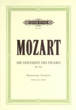 Mozart Wolfgang Amadeus - The Marriage Of Figaro - Voice And Piano (par 10 Minimum)