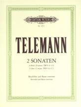 Telemann Georg Philipp - Recorder Sonatas