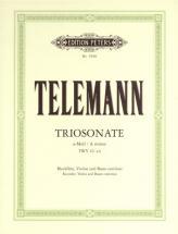 Telemann G.p. - Trio Sonata In A Minor From