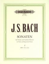 Bach Johann Sebastian - 6 Sonatas Bwv 1014-1019 Vol.1 - Violin And Piano