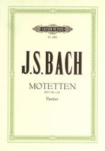 Bach Johann Sebastian - 6 Motets Bwv 225-230; Chorale