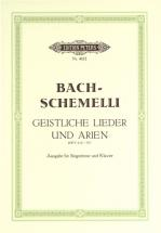 Bach Johann Sebastian - 69 Sacred Songs And Arias - Vocal Score (par 10 Minimum)