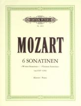 Mozart Wolfgang Amadeus - 6 Viennese Sonatinas - Piano
