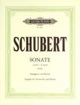 Schubert Franz - Arpeggione Sonata In A Minor D821 - Cello And Piano